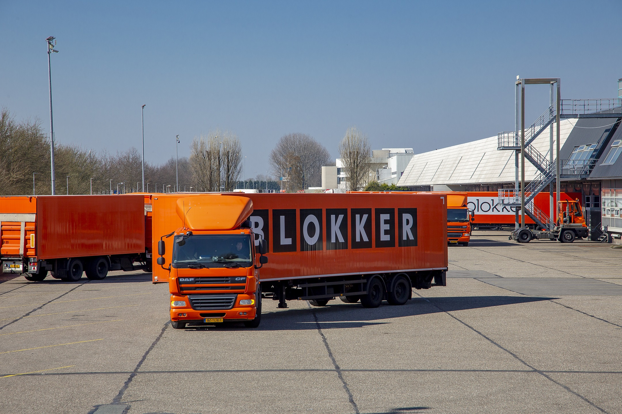supply chain blokker